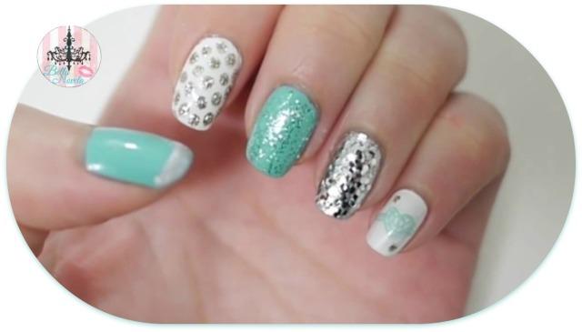 Tiffany and Silver Nails