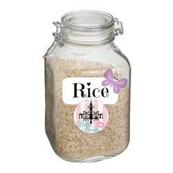 تقشير البشرة بالأرز