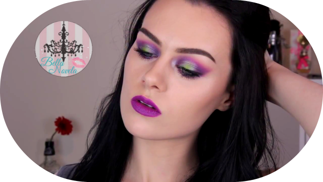 electric palette and heroine lipstick