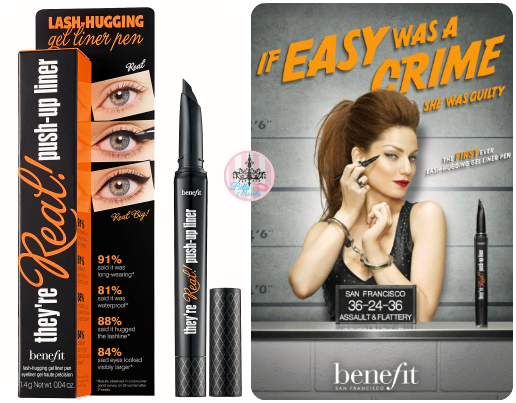 benefit push up liner