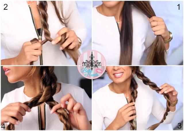 تسريحة شعر طويل