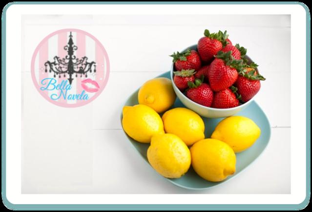 فراولة وليمون