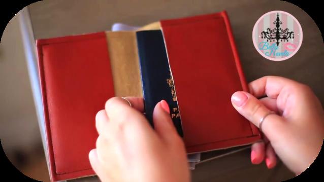 محفظة جواز السفر